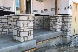 Stone Patio Area